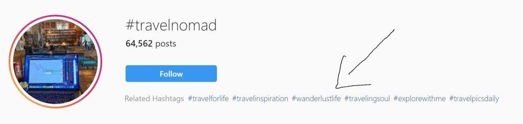 best travel hashtags 2020