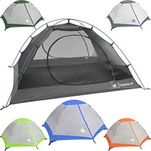 Hyke & Byke Yosemite 1 and 2 Person Backpacking Tent