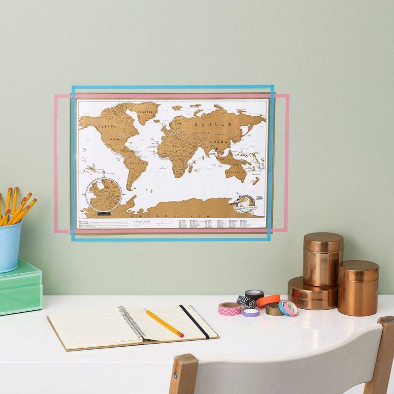 scratch travel map