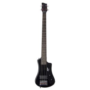 Hofner HCT-SHB-BK-O Shorty Electric Travel Bass Guitar